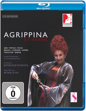 Agrippina: Saarländisches Staatsorch (Junghänel) (2008) (Blu-ray) (Retail Only)