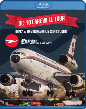 DC-10 Farewell Tour - Dhaka to Birmingham UK & Scenic Flights (2014) (Blu-ray) (Retail Only)