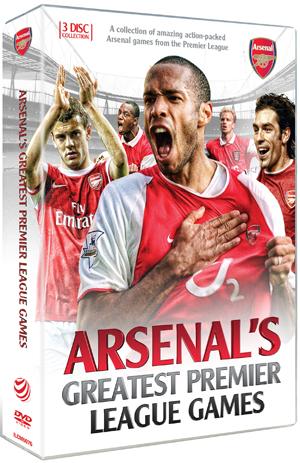 Arsenal FC: Greatest Premier League Games (2012) (Retail / Rental)