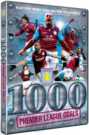 Aston Villa: 1000 Premier League Goals (Retail / Rental)