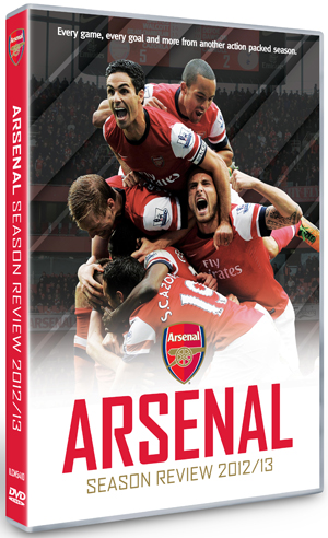 Arsenal FC: End of Season Review 2012/2013 (2013) (Retail / Rental)