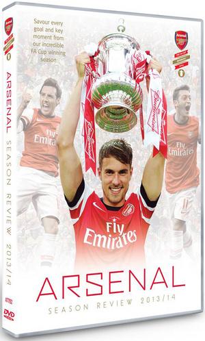 Arsenal FC: End of Season Review 2013/2014 (Retail / Rental)