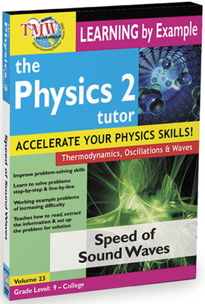 The Physics Tutor 2: Speed of Sound Waves (2012) (Retail / Rental)