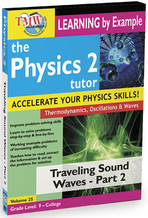 The Physics Tutor 2: Travelling Sound Waves - Part 2 (2012) (Retail / Rental)