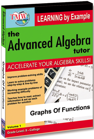 The Advanced Algebra Tutor: Graphs of Functions (2012) (Retail / Rental)