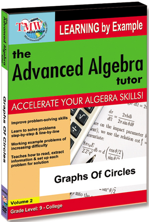 The Advanced Algebra Tutor: Graphs of Circles (2012) (Retail / Rental)