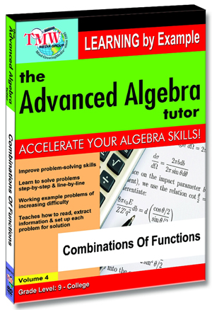 The Advanced Algebra Tutor: Combinations of Functions (2012) (Retail / Rental)