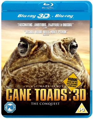 Cane Toads: The Conquest (2010) (Blu-ray) (3D Edition with 2D Edition) (Retail / Rental)