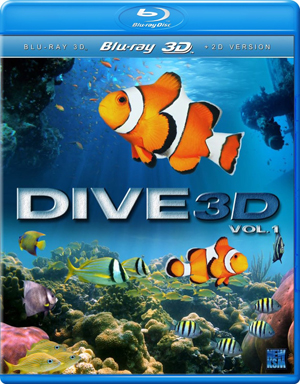 Dive: Volume 1 (Blu-ray) (3D Edition with 2D Edition) (Retail / Rental)