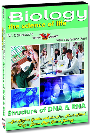 Biology - The Science of Life: Structure of DNA and RNA (2012) (Retail / Rental)