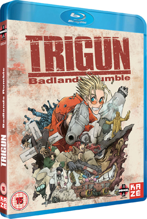 Trigun: Badlands Rumble (2010) (Blu-ray) (Retail / Rental)