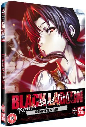 Black Lagoon: Roberta's Blood Trail (2011) (Blu-ray) (Retail / Rental)