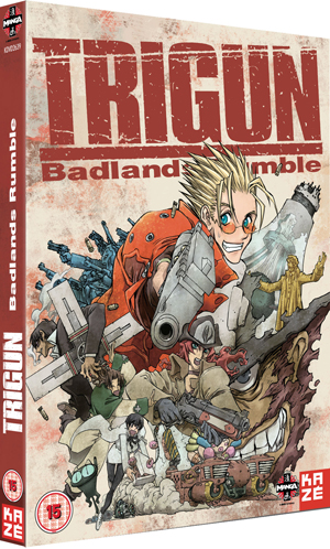Trigun: Badlands Rumble (2010) (Retail / Rental)