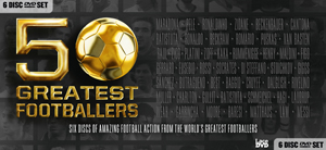50 Greatest Footballers (2012) (Retail / Rental)