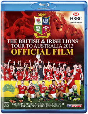 British and Irish Lions - Australia 2013: Official Film (2013) (Blu-ray) (Retail / Rental)