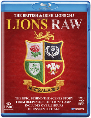 British and Irish Lions - Australia 2013: Lions Raw (2013) (Blu-ray) (Retail / Rental)