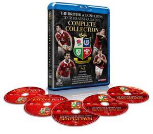 British and Irish Lions - Australia 2013: Complete Collection (2013) (Blu-ray) (Retail / Rental)