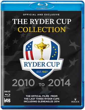 Ryder Cup: Official Films - 2010-2014 (2014) (Blu-ray) (Retail / Rental)