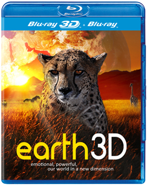 Earth (2012) (Blu-ray) (3D Edition with 2D Edition) (Retail / Rental)