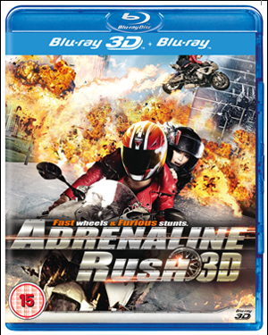 Adrenaline Rush (2011) (Blu-ray) (3D Edition with 2D Edition) (Retail / Rental)