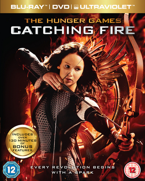 The Hunger Games: Catching Fire (2013) (Blu-ray) (+ DVD and UltraViolet Copy - Triple Play) (Retail Only)