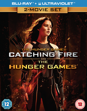 The Hunger Games/The Hunger Games: Catching Fire (2013) (Blu-ray) (with UltraViolet Copy) (Deleted)