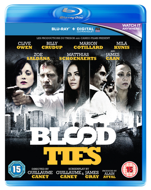 Blood Ties (2013) (Blu-ray) (with UltraViolet Copy) (Retail Only)