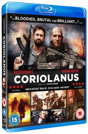 Coriolanus (2011) (Blu-ray) (Rental)