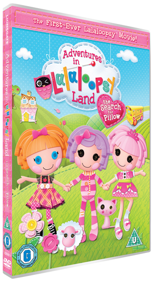 Adventures in LalaLoopsy Land - The Search for Pillow (2011) (Retail / Rental)
