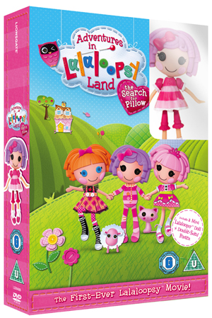 Adventures in LalaLoopsy Land - The Search for Pillow (2011) (Gift Set) (Deleted)