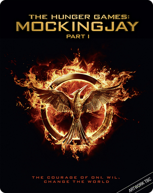 The Hunger Games: Mockingjay - Part 1 (2014) (Blu-ray) (Steel Book) (Retail Only)