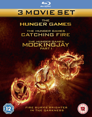 The Hunger Games/The Hunger Games: Catching Fire/The Hunger... (2014) (Blu-ray) (Deleted)