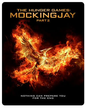 The Hunger Games: Mockingjay - Part 2 (2015) (Blu-ray) (Steel Book) (Retail Only)
