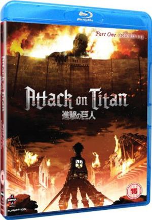 Attack On Titan: Part 1 (2013) (Blu-ray) (Retail / Rental)