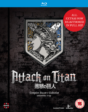 Attack On Titan: Complete Season One Collection (2013) (Blu-ray) (Retail / Rental)
