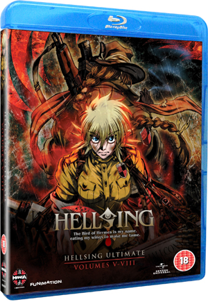 Hellsing Ultimate: Parts 5-8 Collection (2011) (Blu-ray) (Box Set) (Deleted)