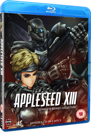 Appleseed XIII: Complete Series Collection (2011) (Blu-ray) (Retail / Rental)