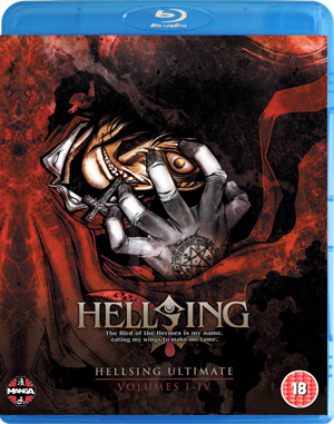 Hellsing Ultimate: Parts 1-4 Collection (2011) (Blu-ray) (Box Set) (Deleted)