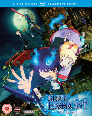 Blue Exorcist: The Movie (2012) (Blu-ray) (with DVD (Collector's Edition) - Double Play) (Retail / Rental)