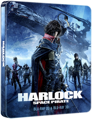 Harlock Space Pirate (2013) (Blu-ray) (Steel Book) (Retail Only)