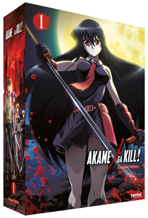 Akame Ga Kill: Collection 1 (2014) (Blu-ray) (Collector's Edition) (Retail / Rental)