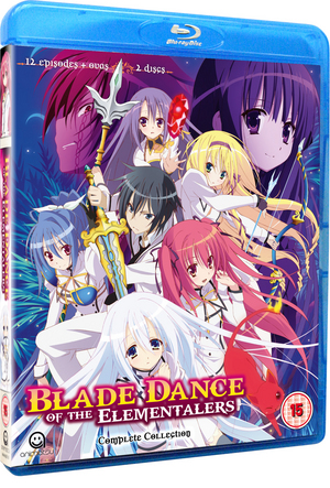 Blade Dance of the Elementalers: Complete Series One Collection (2014) (Blu-ray) (Retail / Rental)