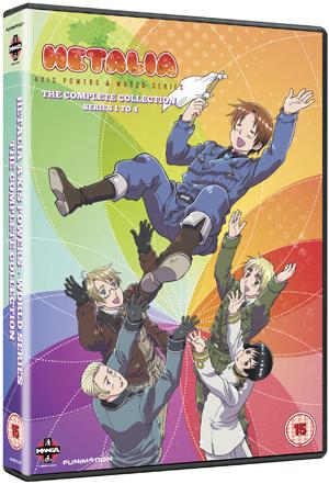 Hetalia Axis Powers: Complete Series 1-4 (2010) (Deleted)