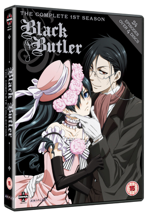 Black Butler: Complete Series 1 (2009) (Box Set) (Retail / Rental)