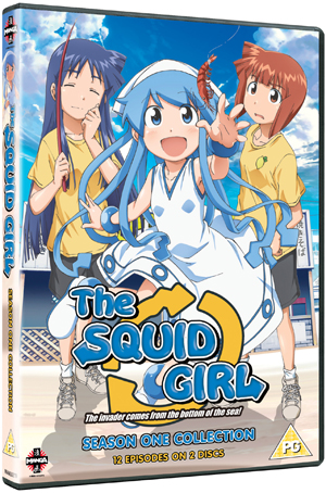 Squid Girl: Complete Series 1 (2010) (Retail Only)