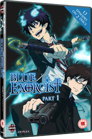 Blue Exorcist: Part 1 (2011) (Retail / Rental)