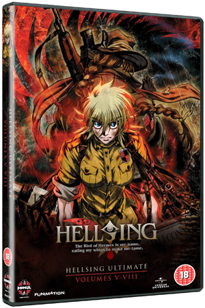 Hellsing Ultimate: Parts 5-8 Collection (2011) (Box Set) (Deleted)