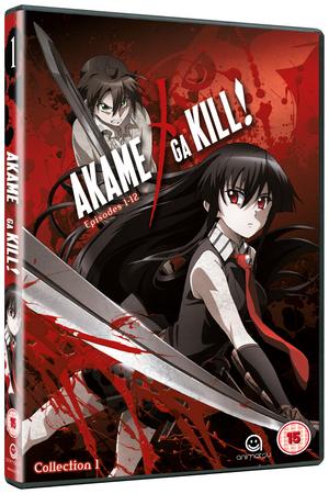 Akame Ga Kill: Collection 1 (2014) (NTSC Version) (Retail / Rental)