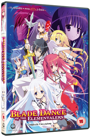 Blade Dance of the Elementalers: Complete Series One Collection (2014) (NTSC Version) (Retail / Rental)