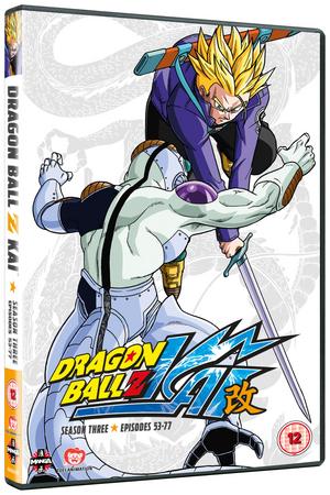 Dragon Ball Z KAI: Season 3 (Retail / Rental)